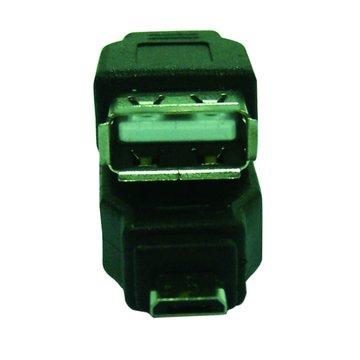 S.C.E 世淇 Micro USB B公對A母轉接頭