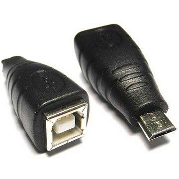 S.C.E 世淇 USB2.0 B母/Micro B公轉接頭
