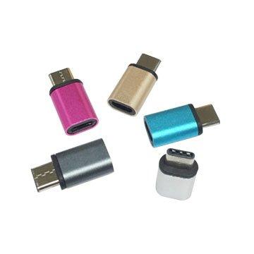 USB3.1 Type-C/Micro B母 轉接頭