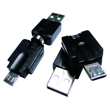 S.C.E 世淇 USB2.0 A公/Micro B 公自由彎曲轉接頭
