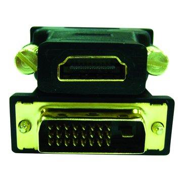 S.C.E 世淇 HDMI母/DVI(24+1)公 轉接頭