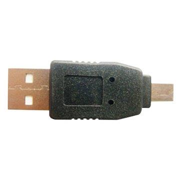USB A公/Mini 5Pin轉接頭