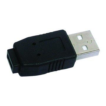 USB A公-MIRCO USB AB母 轉接頭