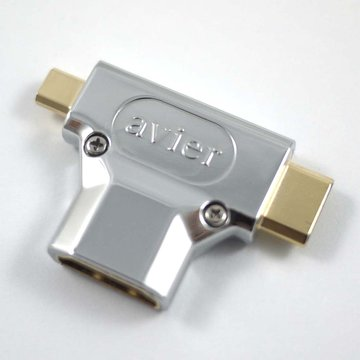avier  HDMI母/Micro+MiniHDMI轉接頭