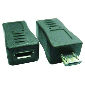 Micro USB公/母轉接頭