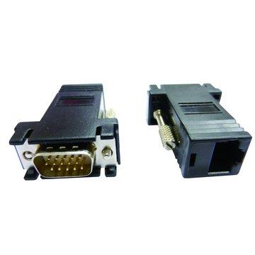 HD高畫質VGA母網路轉接頭