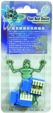 資訊插座(藍)(2PCS)