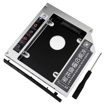 筆電光碟擴增2.5吋SSD硬碟9.5MMSATA