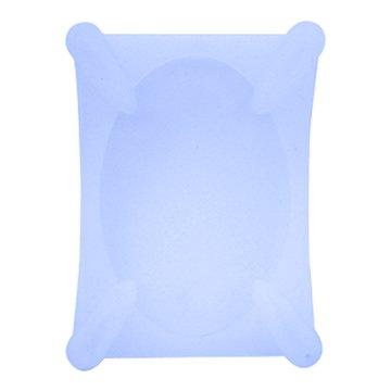 2.5吋硬碟保護套(透明藍)