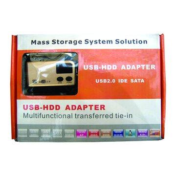 USB TO IDE/SATA傳輸線OTB自動對拷