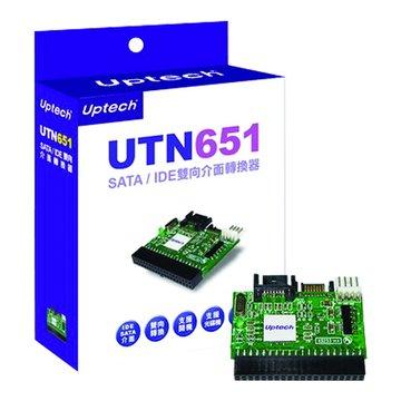 Uptech  UTN651 SATA/IDE雙向介面轉換器/卡