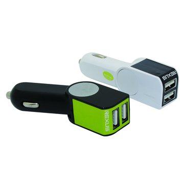 iCooby CC-05-W白 3.1A USB 車充