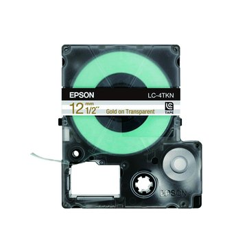 LC-4TKN (12mm)透明標籤帶