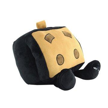 USB可愛卡通暖手寶抱枕-黑色