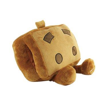 USB可愛卡通暖手寶抱枕-棕色
