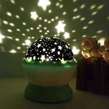 LEDUSB旋轉浪漫星空夜光燈(小)