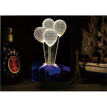 北歐3D立體USBLED創意小夜燈-氣球