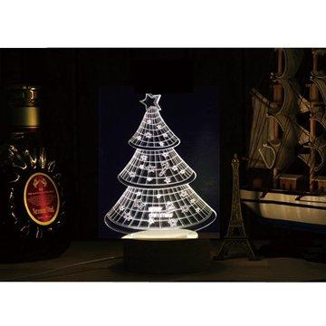 北歐3D立體USBLED創意小夜燈-聖誕樹