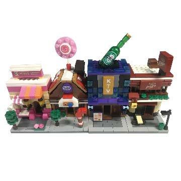 迷你街景積木玩具(小組)