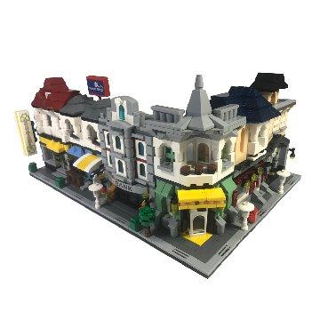 建築街景積木玩具(大組)