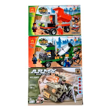 綜合玩具積木-A