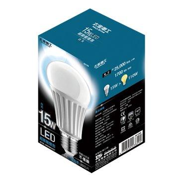 A615W大廣角15W/E27/LED燈泡(白光)