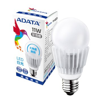ADATA 威剛 11W大角度LED球泡燈(白光)