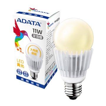 ADATA 威剛 11W大角度LED球泡燈(黃光)