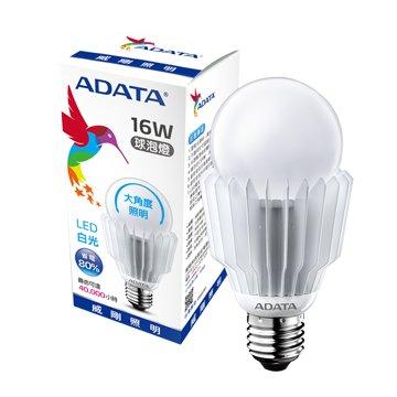 ADATA 威剛 16W 大角度LED球泡燈(白光)