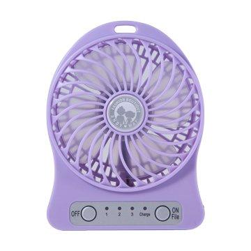 ANDY愛MAY MAY 安迪愛美眉 USB超強風扇-紫