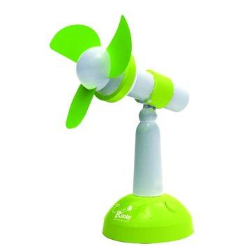 F003 綠色/USB桌上型風扇
