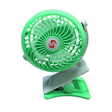 iCooby  676可充電夾式風扇/湖水藍