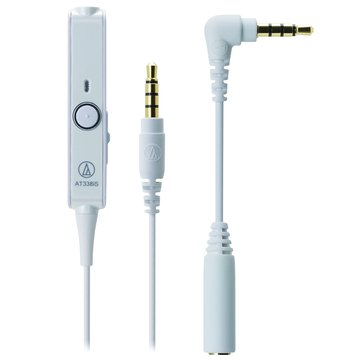 鐵三角WH白麥克風耳機轉接線