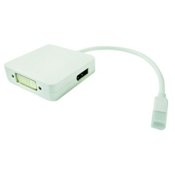 Pro-Best 柏旭佳 Mini DisplayPort-HDMI+DVI+DP母 轉換線