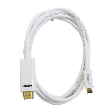 I-WIZ 彰唯 USB3.1 Type-C公/HDMI 2M