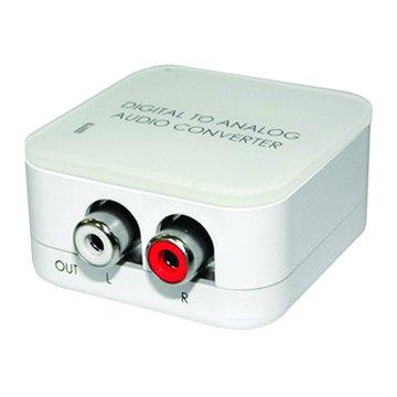 DCT-3 數位光纖轉類比音源轉換器 RCA