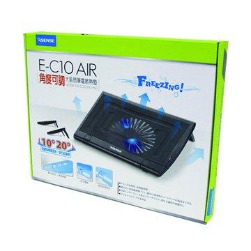 E-SENES 逸盛 Esense E-C10 AIR角度可調大風扇筆電散熱墊