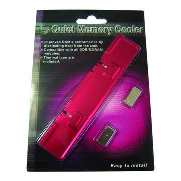 鋁製記憶體散熱器(粉紅)