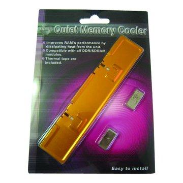 鋁製記憶體散熱器(橘)