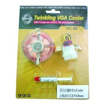 VGA COOLER(全銅黃光)