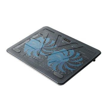 JETART 捷藝 NPA160 冷光雙風扇筆電散熱墊