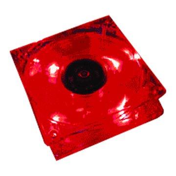 CM 8公分LED/紅色發光風扇