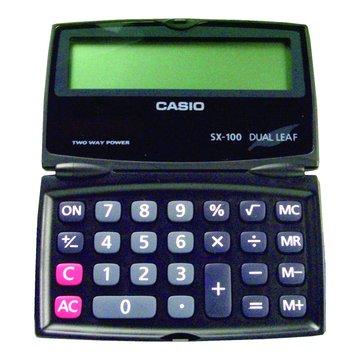 CASIO 卡西歐 SX-100 八位元折疊計算機