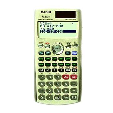 FC-200V 財經專用計算機