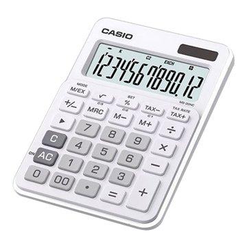 MS-20NC-WE 12位元桌上型計算機(白)