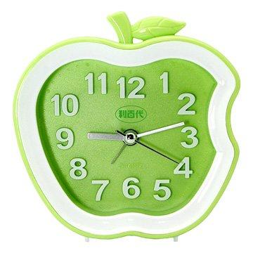 LB-192-G 蘋果造型鬧鐘(綠色)