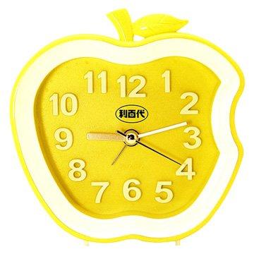 LB-192-Y 蘋果造型鬧鐘(黃色)