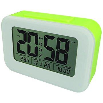 TD-332G 時尚光控聰明鐘(綠白)(福利品出清)