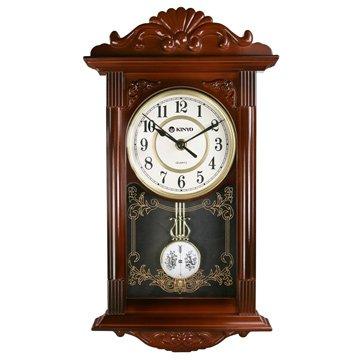 CL-142 歐式復古鐘 擺掛鐘 咖啡色