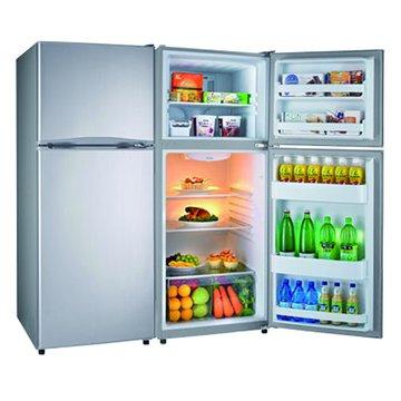 R3401N 343L雙門定頻1級銀色冰箱
